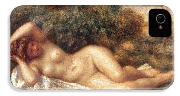 Nude IPhone 4 / 4s Case by Pierre Auguste Renoir