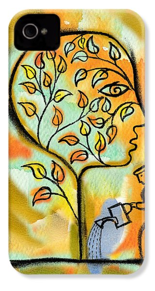 Nurturing And Caring IPhone 4 Case by Leon Zernitsky