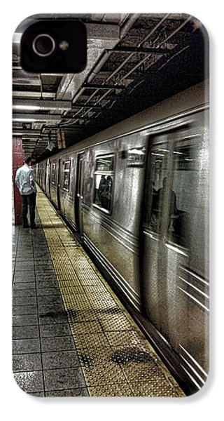 Nyc Subway IPhone 4 Case by Martin Newman