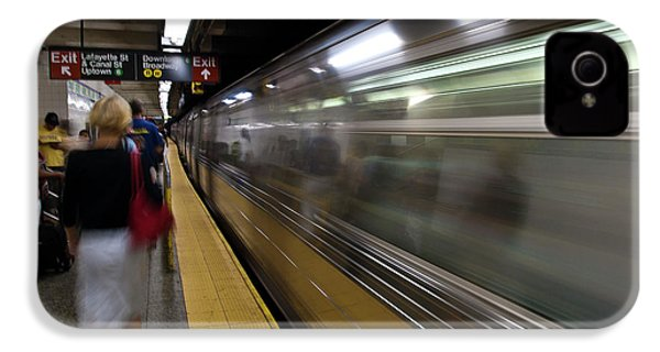 Nyc Subway IPhone 4 Case by Sebastian Musial
