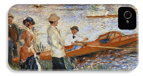 Oarsmen At Chatou IPhone 4 Case