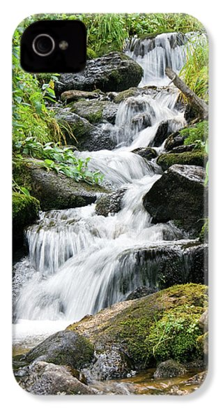 IPhone 4 Case featuring the photograph Oasis Cascade by David Chandler