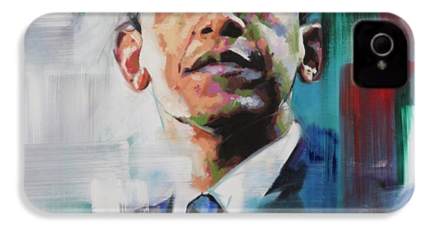 Obama IPhone 4 Case by Richard Day