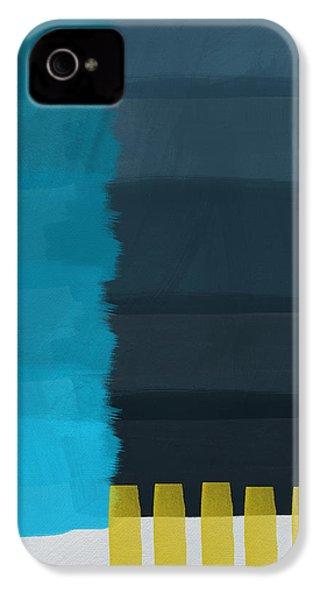 Ocean Front Walk- Art By Linda Woods IPhone 4 Case by Linda Woods