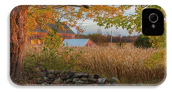 IPhone 4 Case featuring the photograph October Morning 2016 by Bill Wakeley