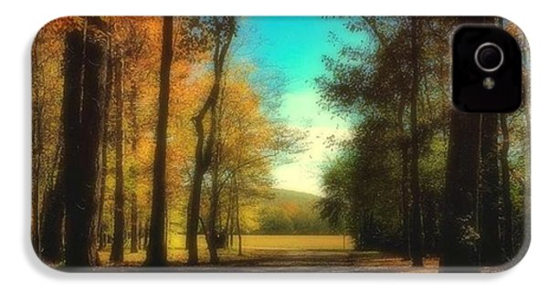 October Path IPhone 4 Case by Steven Gordon