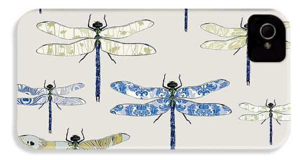 Odonata IPhone 4 / 4s Case by Sarah Hough