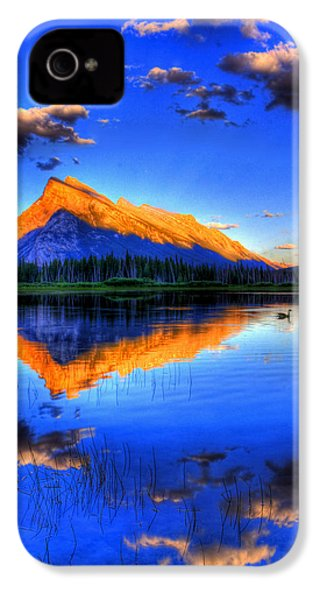 Of Geese And Gods IPhone 4 / 4s Case by Scott Mahon