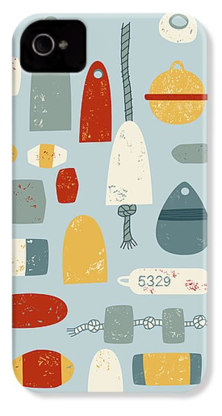 Oh Buoy IPhone 4 Case by Nic Squirrell