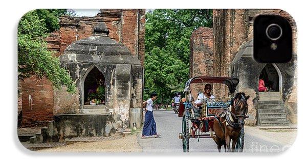 Old Bagan IPhone 4 Case by Werner Padarin
