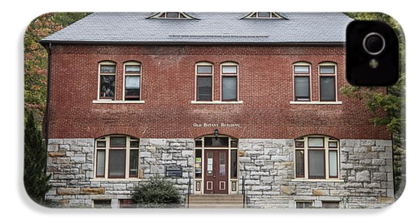Old Botany Building Penn State  IPhone 4 Case by John McGraw