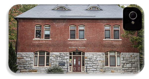 Old Botany Building Penn State  IPhone 4 / 4s Case by John McGraw
