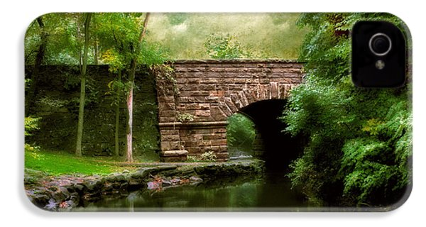Old Country Bridge IPhone 4 Case by Jessica Jenney
