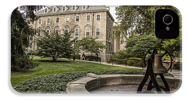 Old Main Penn State Bell  IPhone 4 Case by John McGraw