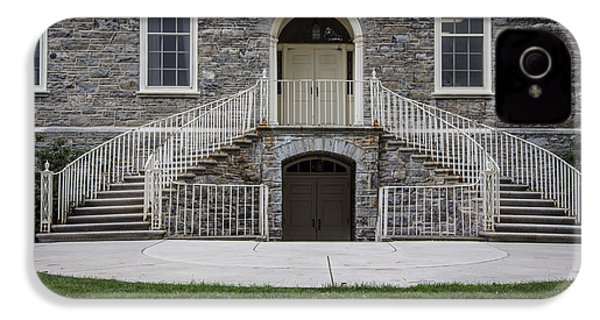Old Main Penn State Stairs  IPhone 4 Case by John McGraw
