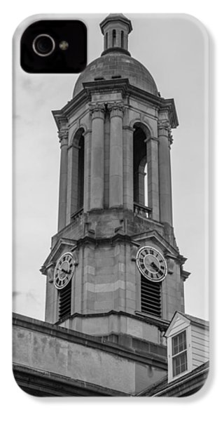 Old Main Tower Penn State IPhone 4 Case by John McGraw