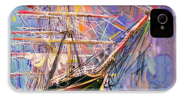 Old Ship 226 4 IPhone 4 Case by Mawra Tahreem