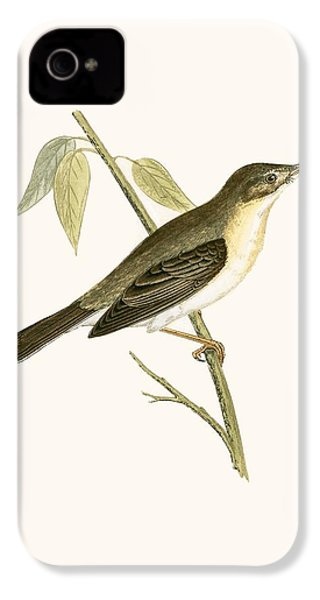 Olivaceous Warbler IPhone 4 / 4s Case by English School
