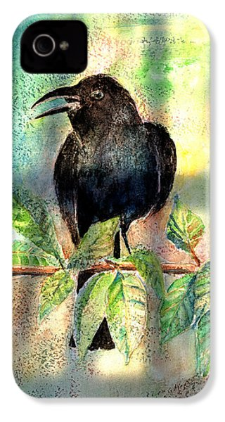 On The Outside Looking In IPhone 4 / 4s Case by Arline Wagner