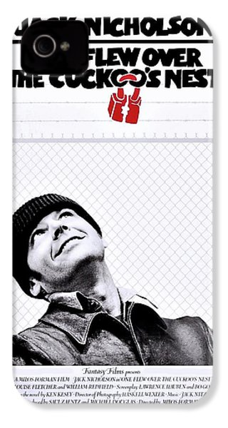 One Flew Over The Cuckoo's Nest IPhone 4 Case by Movie Poster Prints