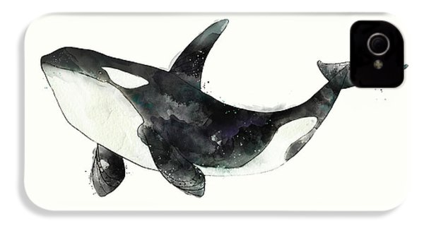 Orca From Arctic And Antarctic Chart IPhone 4 Case
