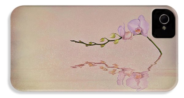 Orchid Blooms And Buds IPhone 4 Case by Tom Mc Nemar
