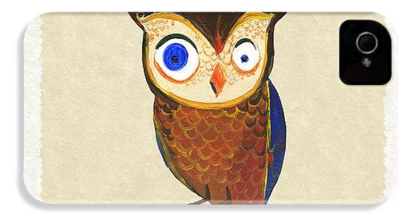 Owl IPhone 4 / 4s Case by Kristina Vardazaryan