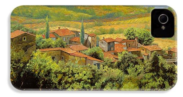 Paesaggio Toscano IPhone 4 Case