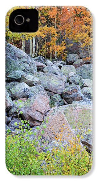IPhone 4 Case featuring the photograph Painted Rocks by David Chandler
