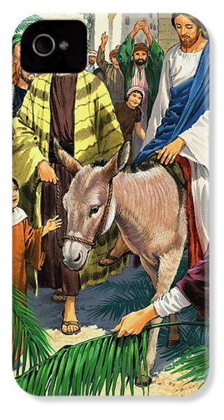 Palm Sunday IPhone 4 Case by Clive Uptton