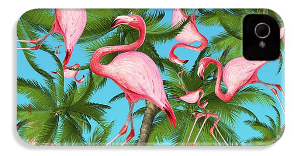 Palm Tree IPhone 4 Case by Mark Ashkenazi