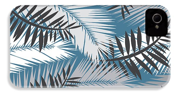 Palm Trees 10 IPhone 4 Case by Mark Ashkenazi