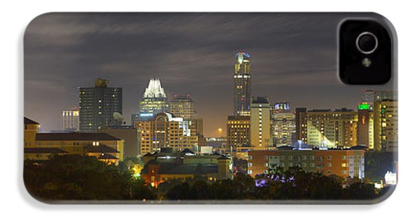Panorama Of The Austin Skyline On A September Morning IPhone 4 Case