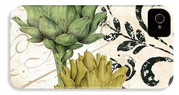 Paris Artichokes IPhone 4 / 4s Case by Mindy Sommers