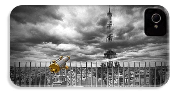 Paris Composing IPhone 4 Case by Melanie Viola
