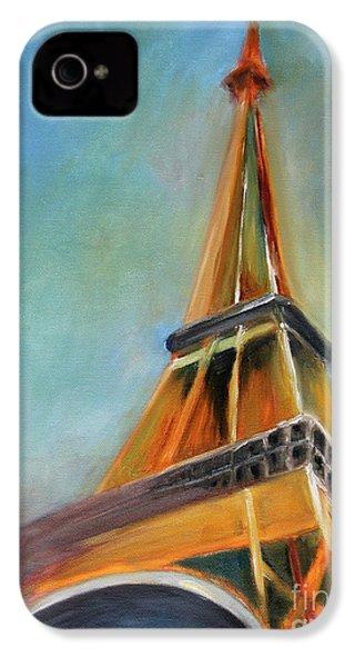 Paris IPhone 4 / 4s Case by Jutta Maria Pusl