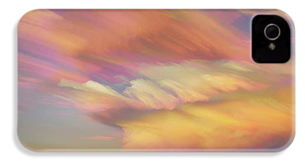IPhone 4 Case featuring the photograph Pastel Painted Big Country Sky by James BO Insogna