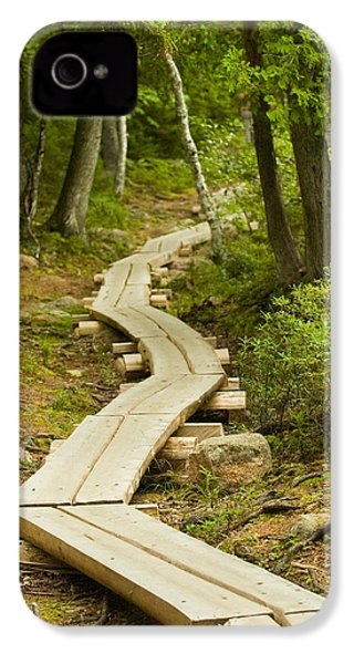 Path Into Unknown IPhone 4 Case by Sebastian Musial
