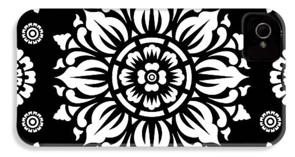 Pattern Art 01-1 IPhone 4 Case by Bobbi Freelance