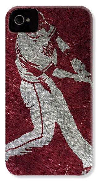 Paul Goldschmidt Arizona Diamondbacks Art IPhone 4 Case