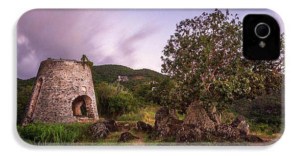 IPhone 4 Case featuring the photograph Peace Hill Ruins by Adam Romanowicz