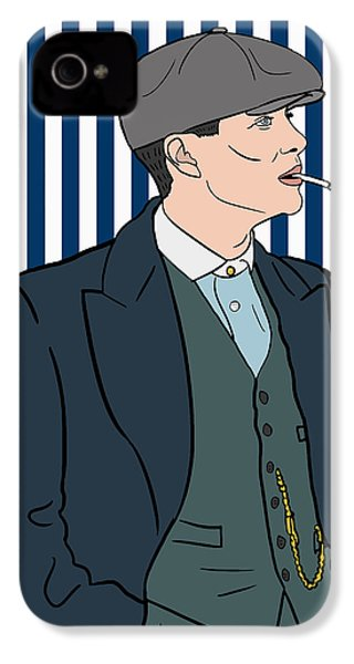 Peaky Blinders IPhone 4 / 4s Case by Nicole Wilson