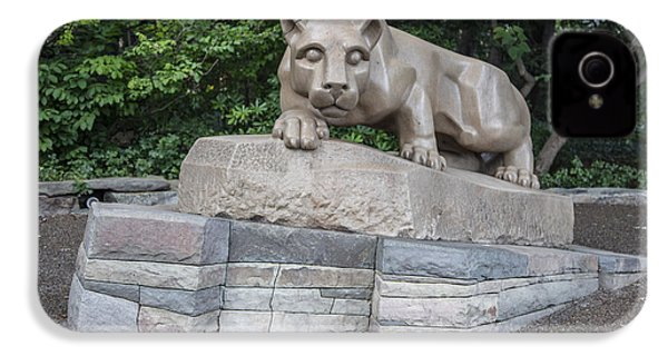 Penn Statue Statue  IPhone 4 Case by John McGraw