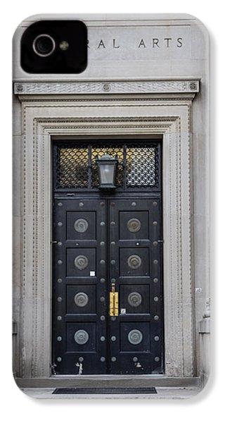 Penn State University Liberal Arts Door  IPhone 4 Case by John McGraw