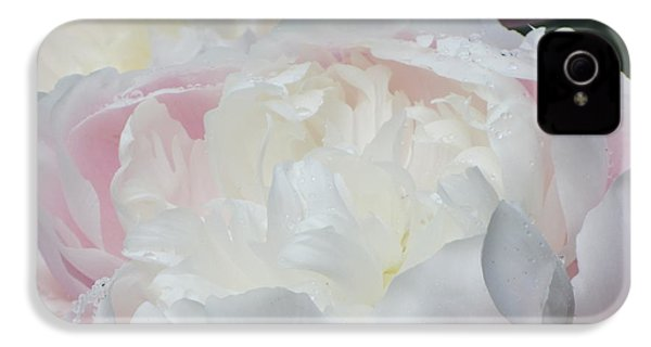 IPhone 4 Case featuring the photograph Peony by Karen Shackles
