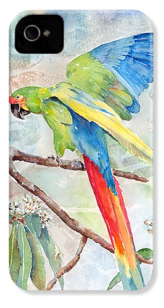 Perfect Landing IPhone 4 Case by Arline Wagner