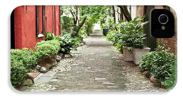 Philadelphia Alley Charleston Pathway IPhone 4 / 4s Case by Dustin K Ryan