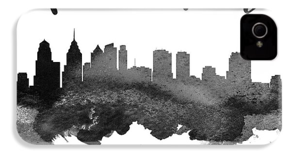 Philadelphia Pennsylvania Skyline 18 IPhone 4 / 4s Case by Aged Pixel