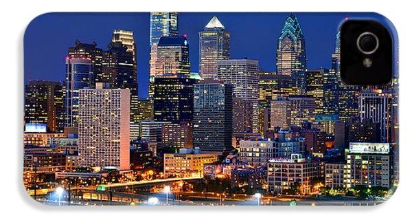 Philadelphia Skyline At Night IPhone 4 Case