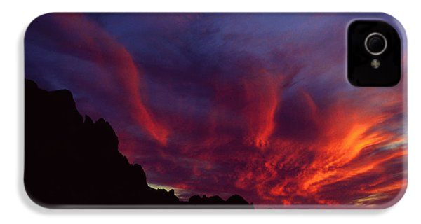 Phoenix Risen IPhone 4 Case by Randy Oberg
